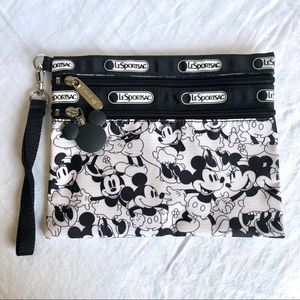 LeSportsac Disney Mickey Mouse 2 Zip Pouch